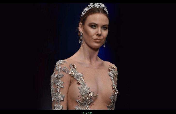 Moda şovuna transparan gelinlik damgası - Sayfa 1
