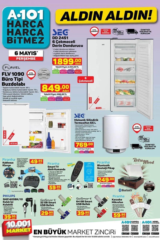 A101 6 Mayıs 2021 aktüel ürünler! - Sayfa 2