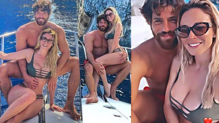Diletta Leotta ve Can Yaman'dan Capri'de aşk pozları - Sayfa 1