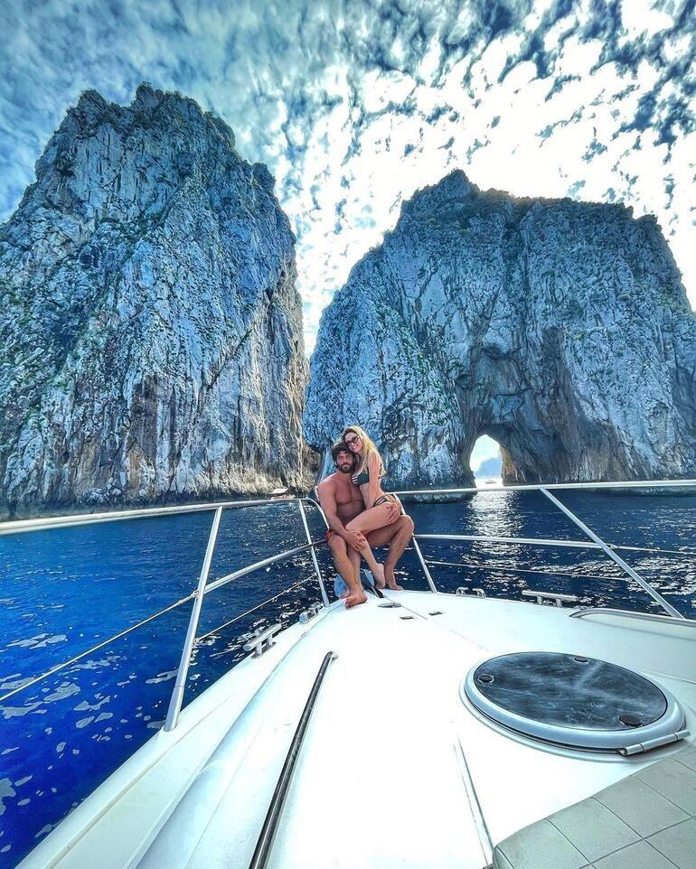 Diletta Leotta ve Can Yaman'dan Capri'de aşk pozları - Sayfa 3