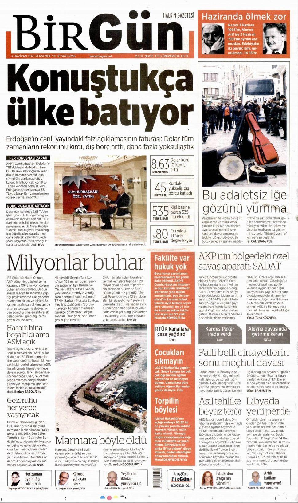 4 Haziran 2021 gazete manşetleri - Sayfa 4