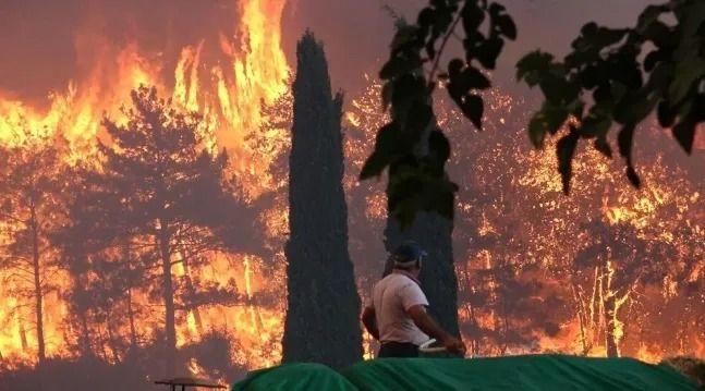 Antalya Manavgat'ta büyük yangın kontrol altında! - Sayfa 3