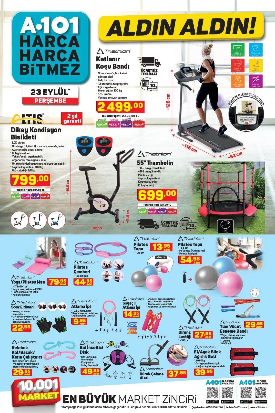 A101 23 Eylül 2021 aktüel ürünler kataloğu Perşembe fiyat listesi - Sayfa 4
