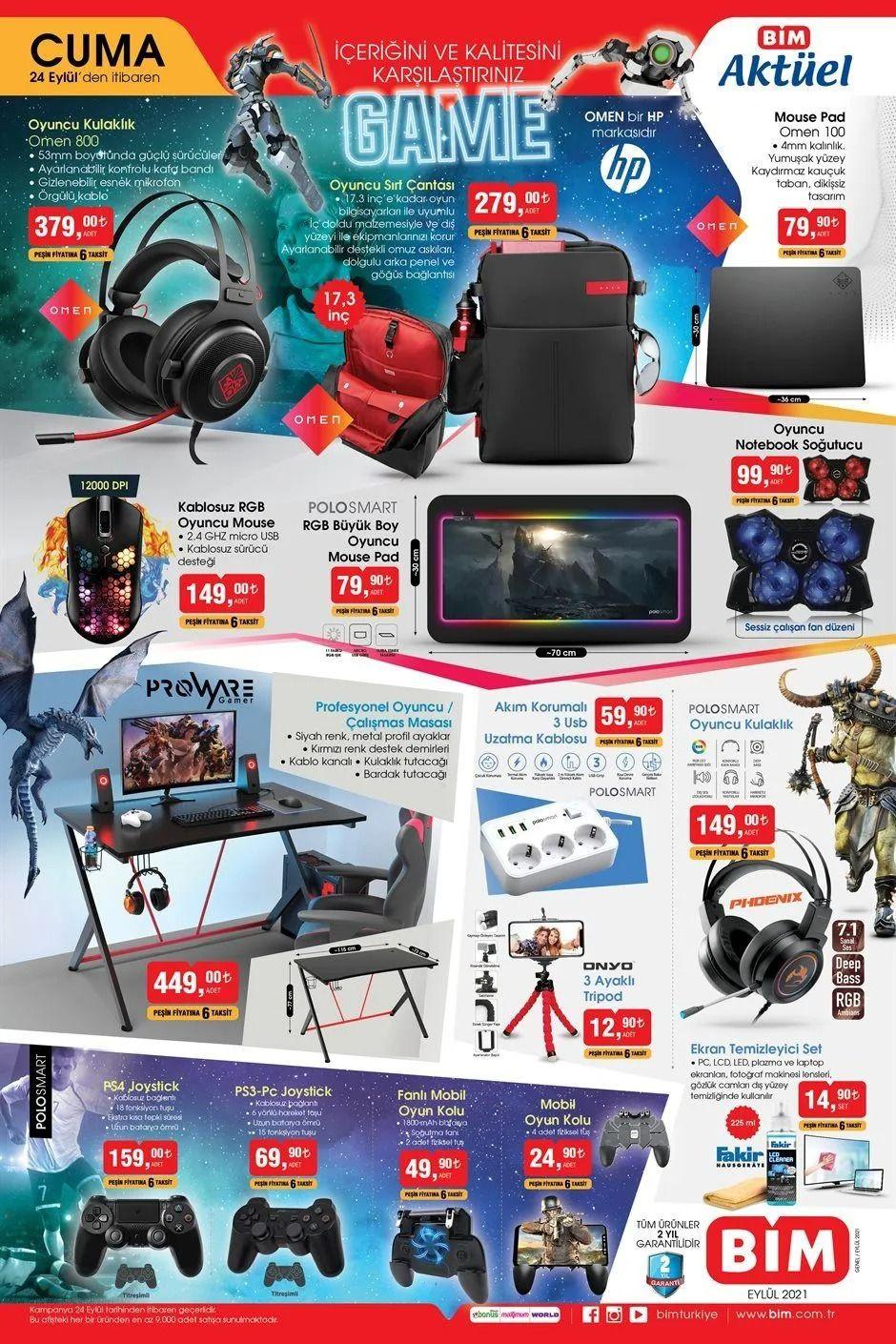 BİM 24 Eylül 2021 aktüel ürünler kataloğu Cuma fiyat listesi - Sayfa 2