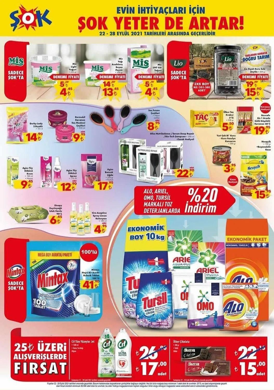 ŞOK 22 Eylül 2021 aktüel ürünler kataloğu Çarşamba fiyat listesi - Sayfa 2